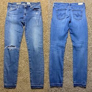 AG The Legging Ankle Super Skinny Jeans 28R